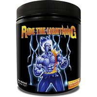 Image of Ride The Lightning 250g - 50 Servings-Blazin' Blue Razz Bodybuilding Warehouse CTR