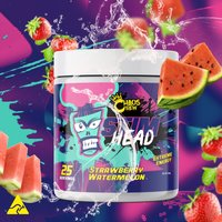 Image of STIM HEAD (25 Servings) - Strawberry Watermelon Pre-Workout Supplements Chaos Crew