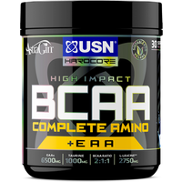 Image of BCAA Complete Amino - 400g-Blue Raspberry Bodybuilding Warehouse USN