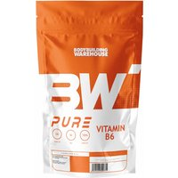 Image of Pure Vitamin B6 Tablets (50mg)-120 Tabs Bodybuilding Warehouse