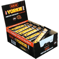 Image of Protein Bar - 24 Bars Bodybuilding Warehouse Yorkie