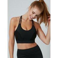 Activewear 4-way Stretch Crop Top - Black
