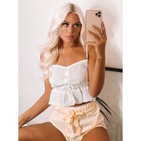 Boux Avenue                   Broderie and gingham cami set               - 14