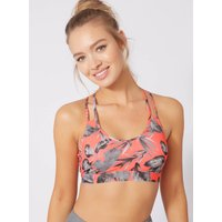 Boux Avenue Activewear palm strappy crop top - Coral - 16