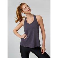 Activewear T-bar Vest - Grey Mix