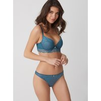 Annette Lace Thong - Teal