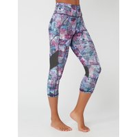 Activewear Abstract 7/8 Leggings - Multicoloured