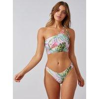 Activewear Palm Brazilian Bikini Briefs - Pink Mix