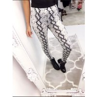 Asher Snake Print Leggings