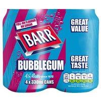 Barr Bubblegum 4 Pack