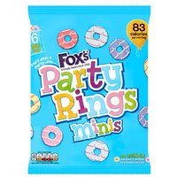 Foxs Mini Party Rings 6 Pack