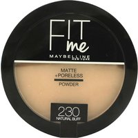 Maybelline Fit Me Matte + Poreless Powder 8.5g - 230 Natural Buff