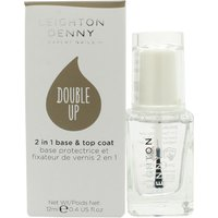 Leighton Denny Double Up Base and Top Coat 12ml