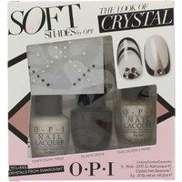 OPI Nail Polish The Look of Crystal Soft Shades Gift Set 15ml Chiffon My Mind +