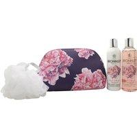 Bronnley Pink Peony & Rhubarb Gift 250ml Shower Gel + 250ml Body Lotion + Body P
