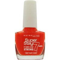 Maybelline Forever Strong Nail Polish 10ml - Orange Couture