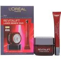 L'Oreal Revitalift Laser Renew Anti-Ageing Skincare Gift Set 50ml Day Cream + 15