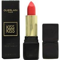 Guerlain Kisskiss Shaping Cream Lip Colour Lipstick 3.5g - 343 Sugar Kiss