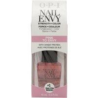 OPI Nail Envy Nail Strengthener 15ml - Pink To Envy