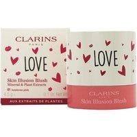 Clarins Skin Illusion Blush 4.5g - 01 Luminous Pink