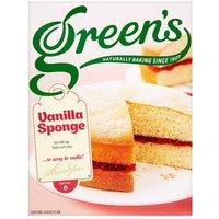 Greens Vanilla Sponge Mix