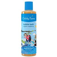 Childs Farm Bubble Bath For Buccaneers Organic Raspberry