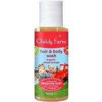 Childs Farm Hair & Body Wash Organic Sweet Orange Travel Size