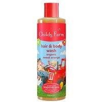 Childs Farm Hair & Body Wash Sweet Orange 500ml