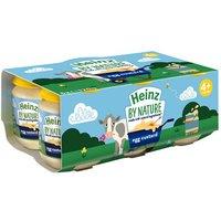 Heinz by Nature Egg Custard +4 Months 6 Pack