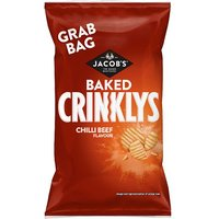 Jacobs Baked Crinklys Chilli Beef Flavour