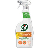 Cif Nature's Recipe Kitchen Cleaner with Lemon Extracts