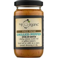Mr Organic Grilled Peppers Add In Sauce