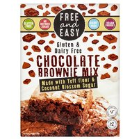 Free and Easy Gluten Free Chocolate Brownie Mix