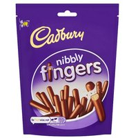 Cadbury Nibbly Fingers Pouch