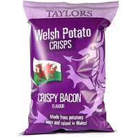 'Taylors Crispy Bacon Welsh Crisps