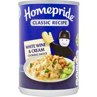 Homepride Can Wine and Cream Cook In Sauce