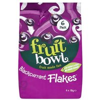 Fruit Bowl Fruit Flakes Blackcurrant 5 Pack
