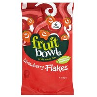Fruit Bowl Fruit Flakes Strawberry 5 Pack
