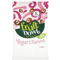 Fruit Bowl Yogurt Flakes Raisins 5 Pack