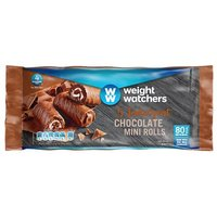 Weight Watchers 5 Chocolate Mini Rolls