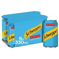 Schweppes Diet Lemonade 6x330ml
