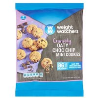 Weight Watchers Oaty Chocolate Chip Mini Cookies 5 Pack