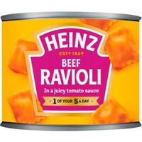 Heinz Ravioli In Tomato Sauce Smaller Size