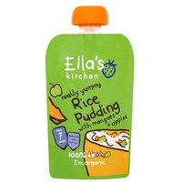 Ellas Kitchen 7 Month Organic Rice Pudding with Mango & Apple