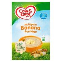 Cow & Gate 7 Month Multigrain Banana Porridge Packet