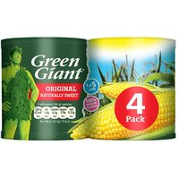 Green Giant Niblets Original Sweetcorn 4 Pack