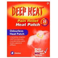 Deep Heat Patch 4 Pack