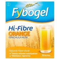 Fybogel High Fibre Orange 10s