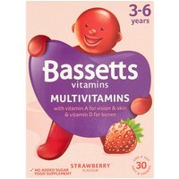 Bassetts Early Health Strawberry 30s
