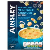 Ainsley Harriott Vegetable Chowder Soup 3 Pack